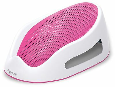 Angelcare SORT TOUCH BATH SUPPORT - PINK Baby Child Infant Bathing Seat BN