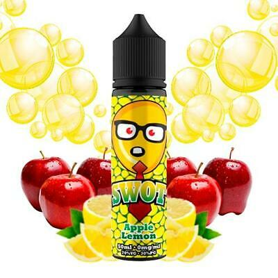 E-liquid SWOT Apple Lemon  50ml - 0mg + Nicokit HALO 10ml 20mg