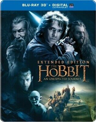 Hobbit: An Unexpected Journey 3D [Extended Edition] (REGION A Blu-ray Used Good