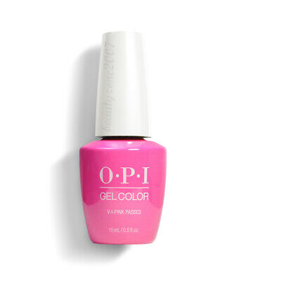 OPI Soak Off Gel Color GC N72 V-I-Pink Passes 0.5oz