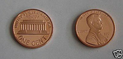2005 Disappearing 5 Error Lincoln Memorial Cent - Gem Cameo Proof Coin