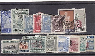 greece used stamps Ref 9300