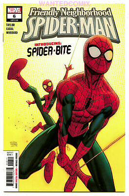 Friendly Neighborhood Spider-Man #6 First Spider Bite Eisner Comic Book New 1