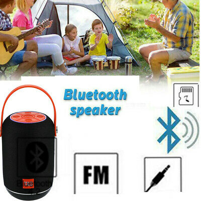 Outdoor Wireless Bluetooth Portable Speaker Radio MP3 Stereo 3D Bass Handsfree