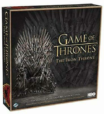 HBO Game of Thrones: The Iron Throne board. Lies, diplomacy, battles Play houses