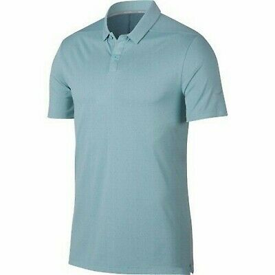 052def00 Nike Golf Men's Ocean Bliss Breathe Textured OLC Dri-Fit Short Sleeve Polo  Shirt