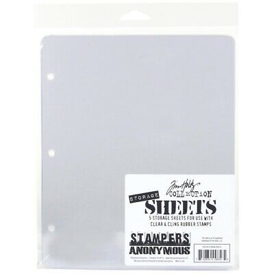 Tim Holtz Storage Sheets 5/Pkg