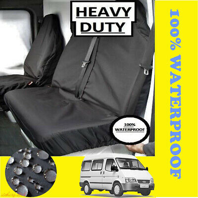 For FORD TRANSIT VAN SEAT COVERS 2000 TO 2017 LWB MWB SWB 100/% WATERPROOF H-DUTY