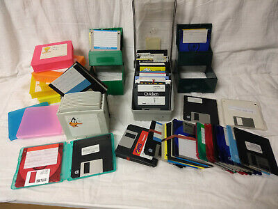96 Vintage Floppy Disks Untested - Include Some Programs - Check Pictures