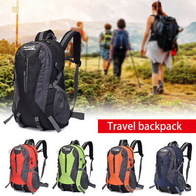40L Large Waterproof Rucksack Hiking Camping Bag Travel Backpack Outdoor Luggage