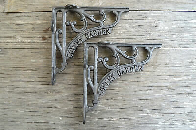 A pair of cast iron antique style Covent Garden brackets 6 inch bracket AL41