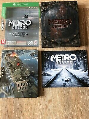 Metro Exodus Aurora Limited Edition Xbox One IN EXCELLENT CONDITION FAST POSTAGE