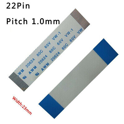 Pitch 1.0mm 31-Pin FFC//FPC Flexible Flat Cable 80C 60V VW-1 W:32mm L:50mm-3000mm