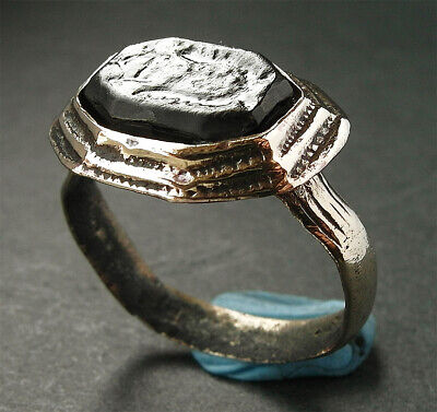 Genuine Ancient Medieval Bronze Ring