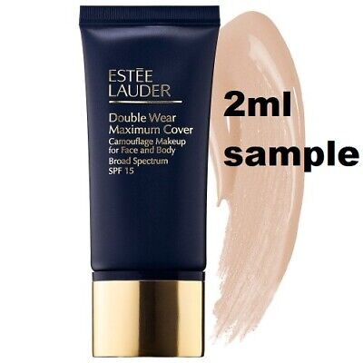 Estee Lauder DOUBLE WEAR MAXIMUM COVERAGE Foundation 1N3 Creamy Vanilla 2ml samp