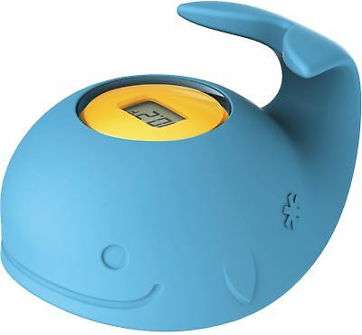 Skip Hop MOBY FLOATING BATH THERMOMETER Celcius Baby/Kid Whale Tub Temp BN