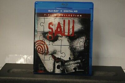 Saw: The Complete Movie Collection Blu-ray Disc, 2014, 3-Disc Set
