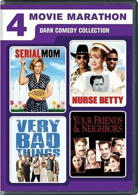 Serial Mom / Nurse Betty / Very Bad Things / Your Friends & Neighbors DVD NEW!