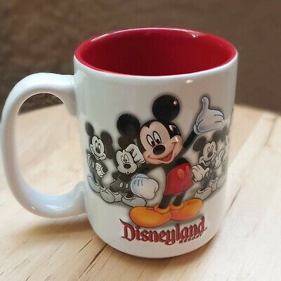 Authentic  Disney Parks Disneyland Resort Mickey Mouse 3D Coffee Mug Cup