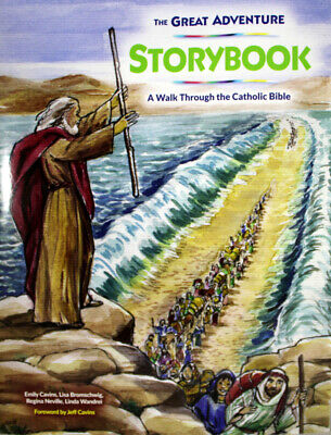 The Great Adventure Storybook NEW Paperback Book Walk Through The Catholic Bible
