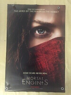 MORTAL ENGINES 2018 Original Movie Poster 27x40 Double Sided