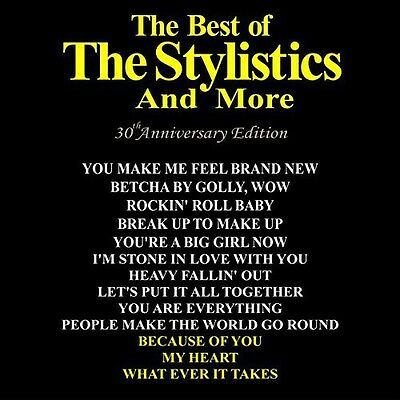 The Stylistics - Best of: 30th Anniversary Edition [New CD]