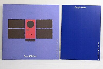 Genuine Bang & Olufsen Beosound 2000 Music System Instruction Manual (Mint)