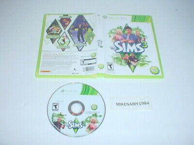 THE SIMS 3 game disc only in original case - Microsoft XBOX 360