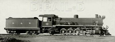 9AA163 RP 1920s? SOUTH AFRICA SOUTH AFRICAN RAILROAD 4-8-2 ENGINE #1991