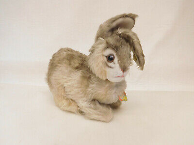 MES-63806	Älterer Steiff Hase Pummy Mohair mit Holzwollstopfung