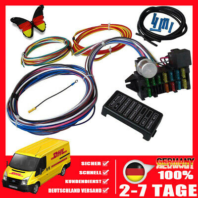 Fine Kabelbaum 8 Wire Universal Us Car Ford Mopar Chevy V8 Dodge Dragster Wiring Cloud Intapioscosaoduqqnet