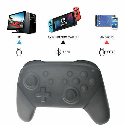 Remote Bluetooth Wireless Pro Controller Gamepad Joypad For Nintendo Switch