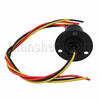 DC 240V 3 Wires Capsule Slip Ring 15A Per Circuit for Industrial Equipment