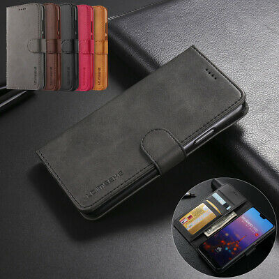Case for Huawei P30 P30 Pro P20 Lite Luxury Genuine Leather Wallet Stand Cover