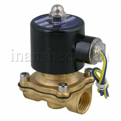 DC 12V Electric Solenoid Valve 1/2 Pipe Normally Closed for Water Air Oil