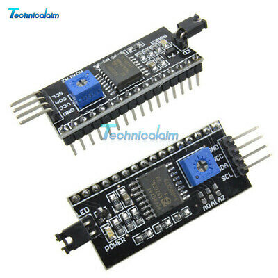 1/2/5/10PCS 1602LCD I2C IIC TWI SP​​I Serial Interface Board Module For Arduino