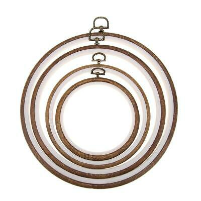 Plastic Frame Embroidery Hoop Ring Circle Round Loop for Craft Cross Stitch