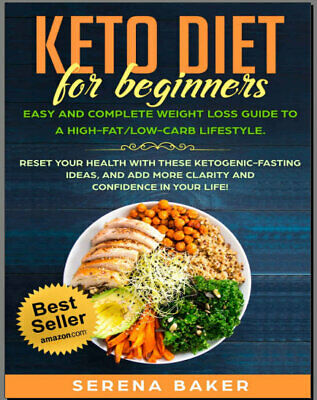 Keto Diet for Beginners – Easy and Complete Weight Loss  Eb00k - FAST Delivery