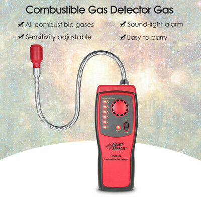 Portable Combustible Gas Detector Methane Natural Gas Analyzer Tester Alarm A9J3