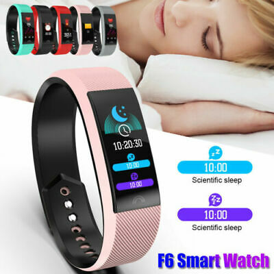 Smart Watch Fitness Activity Tracker Heart Monitor Blood Pressure Sport Bluetoot