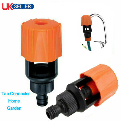 Universal Tap To Garden Hose Fitting Pipe Connector Mixer Kitchen Bath Adapter