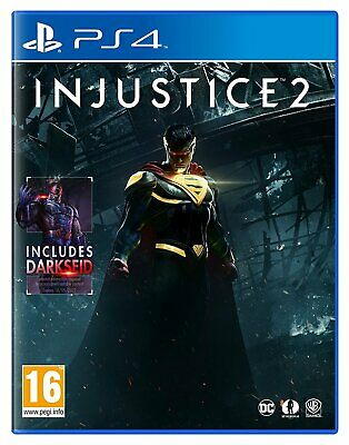 NEW & SEALED! Injustice 2 Sony Playstation 4 PS4 Game
