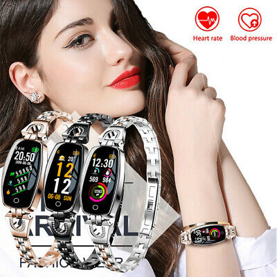 Women Smart Watch Fitness Activity Tracker Heart Monitor Fitbit for iPhone iOS