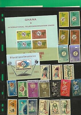 """Collection Of """"Itu"""" Stamps Different Countries , / Years **Mnh"""