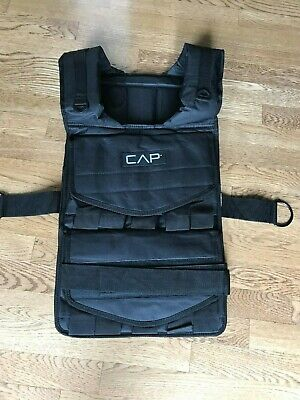 CAP Barbell Adjustable Weighted Vest 80 lb -Does not include Weights NEW