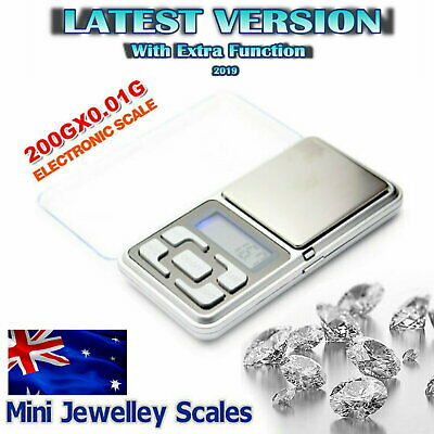 NEW 500g 0.1 DIGITAL POCKET SCALES JEWELLERY ELECTRONIC milligram micro mg