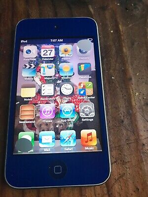 Apple iPod Touch 4th Generation 8gb  Blue