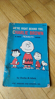 Charles M. Schulz, Peanuts, We're right behind you, Charlie Brown, 1967