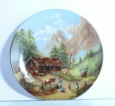 "Collection Plate Seltmann Weiden "" an Der Sennhütte with Certificate"