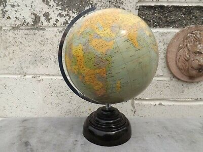 Vintage Geographia The Paramount London Globe - Bakelite Step Base